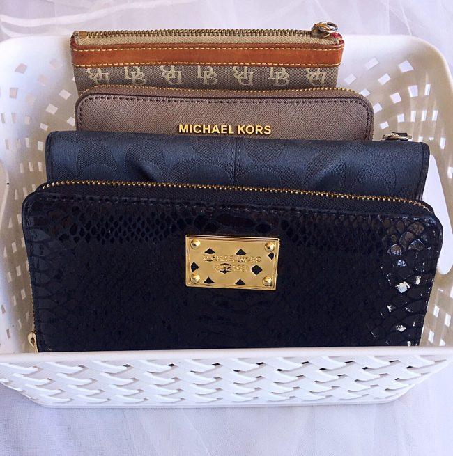 Handbag storage 7