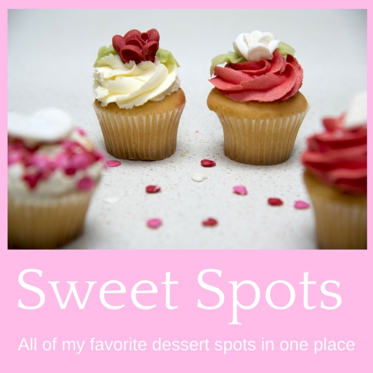 Sweet Spots - cupcake image