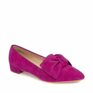 BP pink loafers