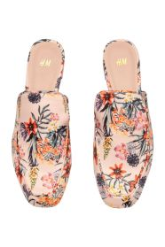 H&M floral Loafers