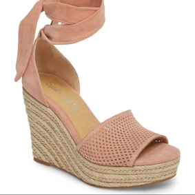 Nordstrom Pink Espadrall Wedge