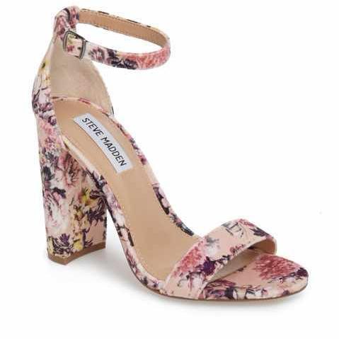 Pink floral sandal Nordstrom