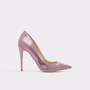 Pink Metalic pumps