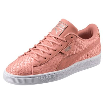 Puma Pink Basket Sneakers